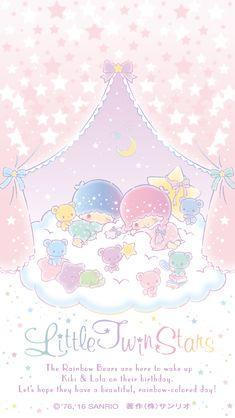 Little Twin Stars ☆ Wallpaper 2017, Stars Wallpaper, Sanrio Wallpaper, Hello Kitty Wallpaper, Kawaii Wallpaper, Disney Wallpaper, Wallpaper Backgrounds, Iphone Wallpaper, Little Twin Stars