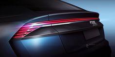 Audi Q8 Concept Rear lamp