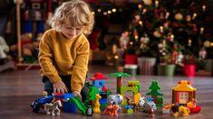 Ποια είναι τα καταλληλότερα παιχνίδια για τα παιδιά ανά ηλικία; Live Christmas Trees, Holiday Tree, Holiday Decor, Turkey Fryer, Toy Packaging, Ride On Toys, Consumer Products, Burning Candle, Tis The Season