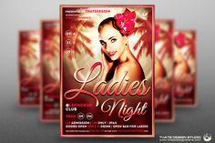 Sensual Ladies Night Flyer Template by Thats Design Studio on @creativemarket