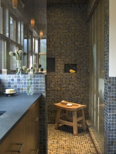 Doorless Shower Design, Pictures, Remodel, Decor and Ideas - page 11