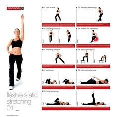 Understanding when, how and why to stretch to get the most out of your body and your workouts! Static Stretching, Dynamic Stretching, Workout Posters, Advanced Yoga, Calf Muscles, Group Fitness, Post Workout, Burn Calories, Weight Training