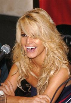 Jessica Simpson! I just adore her! Shes a very strong and inspiring woman! :)