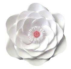Aprende a realizar esta bella flor de papel gigante con el paso a paso en mi web www.ponquis.com Bella, Floral, Flowers, Paper Flowers, How To Make, Florals, Royal Icing Flowers, Flower, Flower