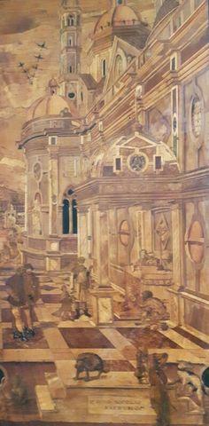 Coro Intarsiato.  Frate Domenico Zambelli.  1529-1550. San Domenico