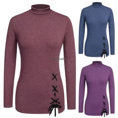 New Fashion Womens Ladies Long Sleeve Casual Cotton Shirt Tops Blouse Shirt | eBay