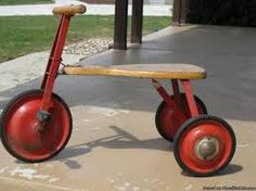 antique tricycle - restoration