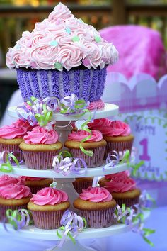Super Cute And Delicious Party Cupcakes For Kids Birthday First Cake