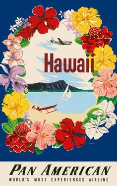 Hawaii Bound - Hawaii 2012 Deluxe Wall Calendar - Collection of Vintage Hawaiian Travel Posters:Amazon:Office Products