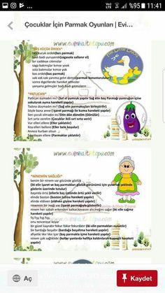 PARMAK OYUNU Turkish Language, Kids Learning, Preschool, Montessori, Rage, Stockings, Kid Garden, Kindergarten, Preschools