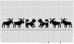 Ravelry: Icelandic Horses Xmas Stocking pattern by Shannon