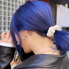 Image about girl in locks by saharrr on We Heart It Dye My Hair, New Hair, Hair Inspo, Hair Inspiration, Cabelo Inspo, Pretty Hair Color, Hair Dye Colors, Aesthetic Hair, Blue Hair