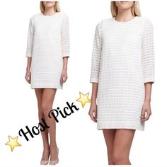 ⚡️low price⚡️NWT Kate Spade Dots Dress NWT Kate Space Dots dress!  Amazing with tights or bare legged, long sleeve makes it perfect for any season!  Size 12 fully lined!             Leave me comments or questions.                 Make me an offer.                                               Share your style with me. kate spade Dresses Long Sleeve