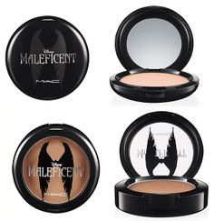 MAC Maleficent Collection for Summer 2014 - Beauty Powder  Limited Edition •Natural - Sculpting Powder Limited Edition •Sculpt