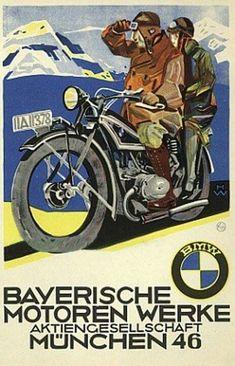 BMW Plakat