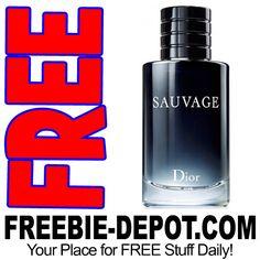 ►► FREE SAMPLE - Sauvage Christian Dior Cologne for Men ►► #ChristianDior, #Dior, #Free, #FREESample, #FREEStuff, #Freebie, #Frugal, #Sample ►► Freebie Depot