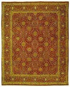 Safavieh Haj Jalili Traditional Indoorarea Rug Rust / Rust