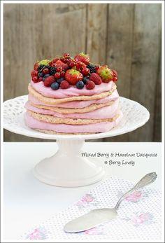 Mixed Berry and Hazelnut Dacquoise