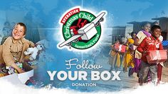 Operation Christmas Child ~ Fill a shoebox of gifts for a child and look for a drop-off location on the Samaritan's Purse website.  Deadline is fast-approaching.  NEW!  You can find out which country your box is going to!  What a wonderful opportunity for you/your child to learn more about that country, knowing you could bless a child's life this Christmas.