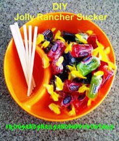 Jolly Rancher Suckers-diy