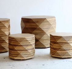 Diamond Woods Coffee Tables & Stools by Tesler + Mendelovitch Photo