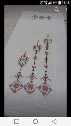 Bargello, Embroidery Designs, Cross Stitch, Hair Style, Cross Stitch Embroidery, Scrappy Quilts, Herb, Hardanger, Punto De Cruz
