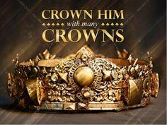 Crown Him Easter Sermon PowerPoint. #Sharefaith #Easter #EasterMedia #Faith #ChurchMedia
