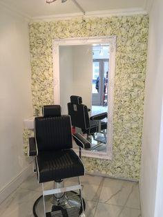 #salon #beauty #flower #wall #feature