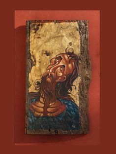 Byzantine Icons, Great Love, Saints, Unique, Shop, Handmade, Painting, Etsy, Art