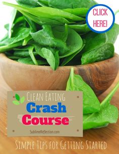 Clean Eating Crash Course: Downloads for: 7 Steps to Creating CE Meal Plan Transitioning family to CE Eating Meal Plans & Recipes