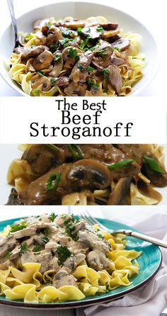 The Best Beef Stroganoff Chinese Chicken Recipes, Low Carb Chicken Recipes, Ground Beef Recipes, Beef Stroganoff Instant Pot Recipe, Best Beef Stroganoff, Diabetic Recipes For Dinner, Yummy Recipes, Recipies, Dinner Recipes
