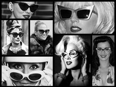 Bold cat-eye frames loved by celebrities then and now