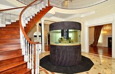 NBA star's mansion features fish tanks