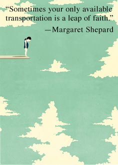 So by all means, jump! Pinned by Amanda Bundy; image by Alessandro Gottardo