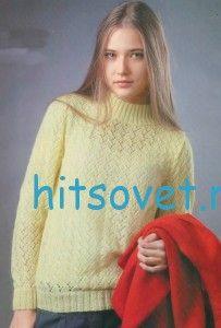 http://hitsovet.ru/ажурный-пуловер-спицами-18/