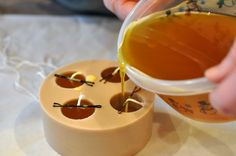 Beeswax candlemaking - from raw wax to finished candles.