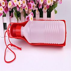 Sale Pet Bowl Automatic Pet Feeder Comedero Perro Plastic Water Feeding Bowl Dog for Travel Drinking Bottle 250ml Supplies