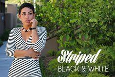 DIY Striped Dress   Steve Madden Heels