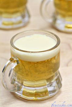 Beer Jello Shot  for the guys who dont want wine