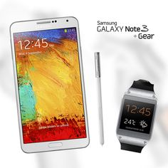 Samsung Galaxy Note 3 + Gear