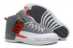 Buy Air Jordans 12 Retro Cool Grey/Total Orange-White For Sale Discount  from Reliable Air Jordans 12 Retro Cool Grey/Total Orange-White For Sale  Discount ...