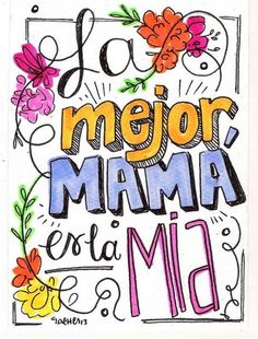 Mothers Day Gifts – Gift Ideas Anywhere Mothers Day Crafts, Happy Mothers Day, Foto Transfer, Mom Day, Mom And Dad, Quote Of The Day, Hand Lettering, Illustrator, Diy And Crafts