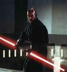 3 - Darth Maul - Kick-ass Sith Lord ordered by Palpatine to kill the Jedis in The Phantom Menace. Famed for his uber-cool double-ended lightsaber. He would star in a movie that consisted purely of awesome fight scenes. Star Wars Rebels, Star Wars Sith, Star Wars Characters, Star Wars Episodes, Movie Characters, Ahsoka Tano, Darth Maul, Istp Personality, The Old Republic