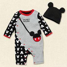 Aliexpress.com: Comprar Bebé recién nacido ropa 2015 otoño marca del bebé y niñas ropa patrón de caracteres ropa mamelucos del bebé + Hat 3   12 M de ropa de la India fiable proveedores en Milan Creations Flagship(Fashion Kids Paradise)