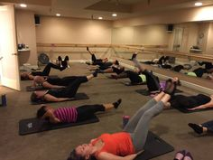 Members work out their abs at Barre Forte's new Barre Express class | YourHub.com #denverpost #colorado #fitnessnews #barre #fitness #barrefitness #barreforte