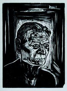 Oswaldo Goeldi, sem título, circa 1950, impressão póstuma de 1995 xilogravura, cópia única 30 x 22 cm Coleção Ary Ferreira de Macedo