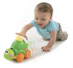 Pusat Jual Mainan Anak - Fisher-Price Go Baby Go! Tekan Dan Crawl Penyu | Pusat Mainan Bayi Terbesar dan Terlengkap Se indonesia