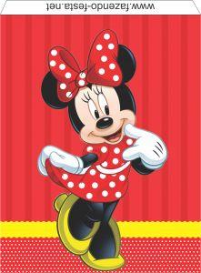 Kit de la coqueta Minnie para Imprimir Gratis.   Ideas y material gratis para fiestas y celebraciones Oh My Fiesta!