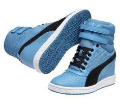 40a038113723 Puma Women s Sky Wedge High Sneaker