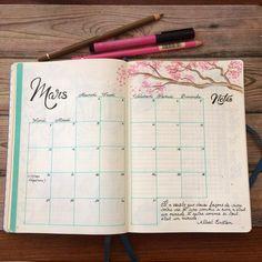that.is.the.point - Bullet journal : mars 2017 #bulletjournaling #bujo #bulletjournal #leuchtturm1917 #monthlypages #march2017 #illustratedjournal #handwriting